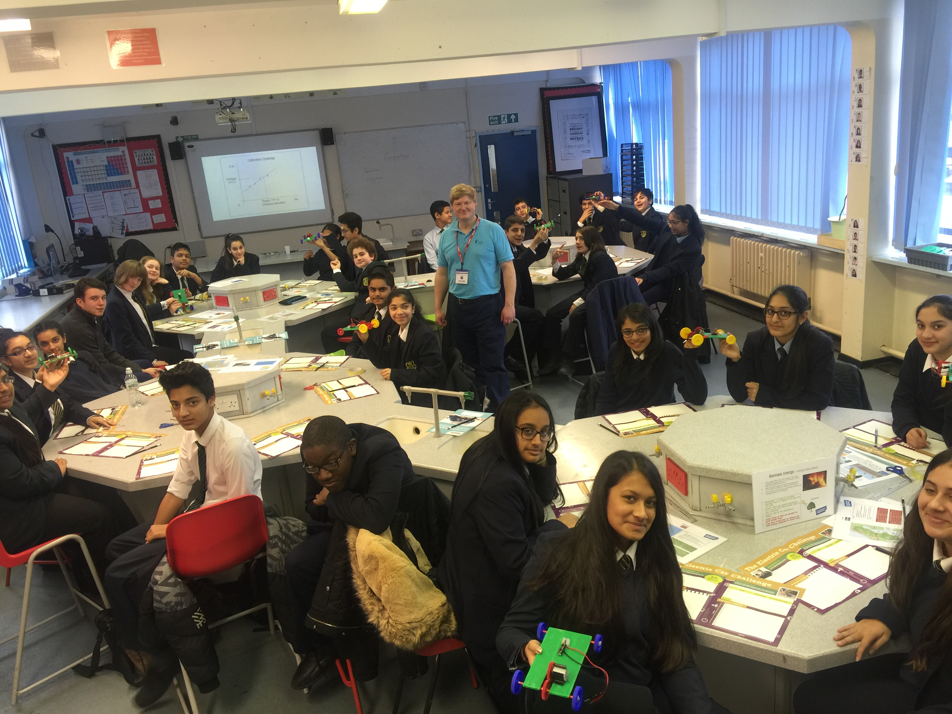 60 Year students took part in a workshop run by BP
